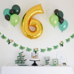 Box Anniversaire Jungle (4-6 ans)