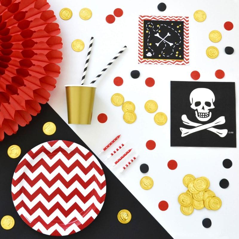 Box Anniversaire Pirate pour enfants