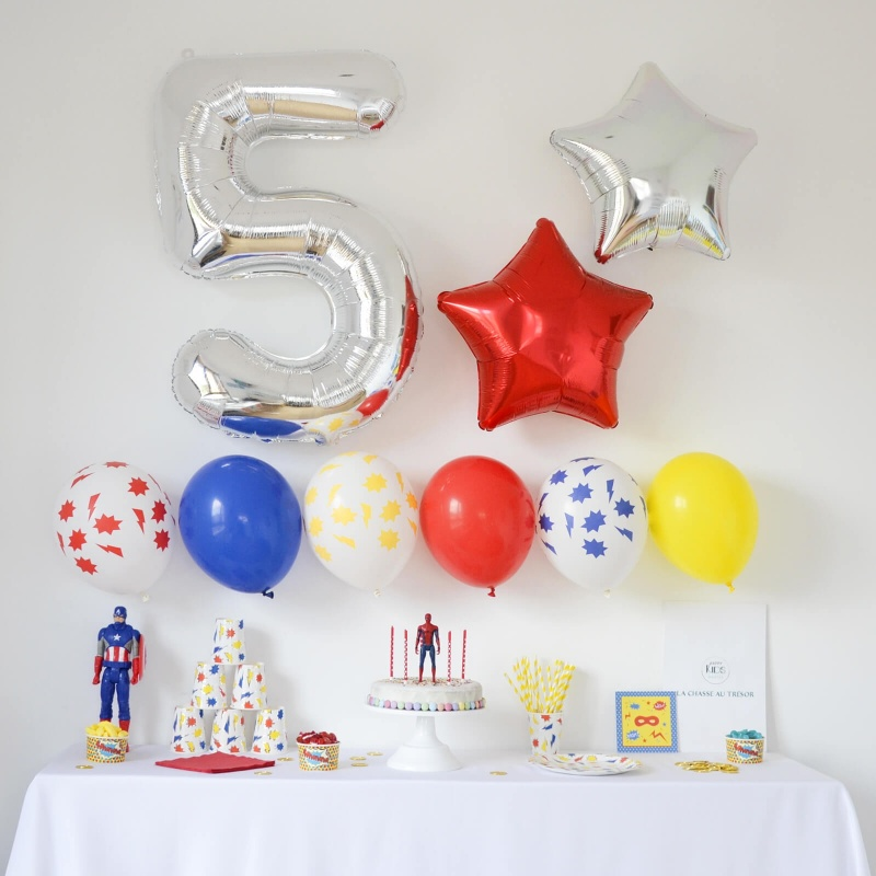 Box Anniversaire Super-Hero (4-6 ans)