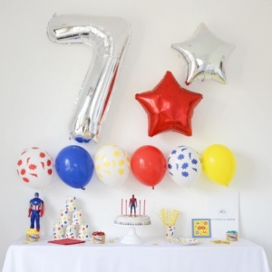 Box Anniversaire Super-Hero (7-9 ans)