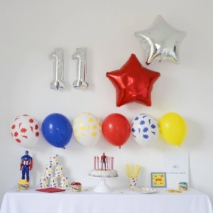 Box Anniversaire Super-Hero (10-11 ans)