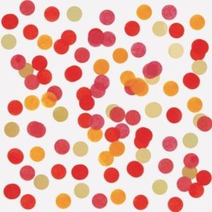 Confettis Rouge et doré