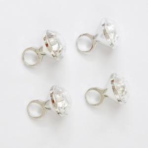 4 bagues diamant