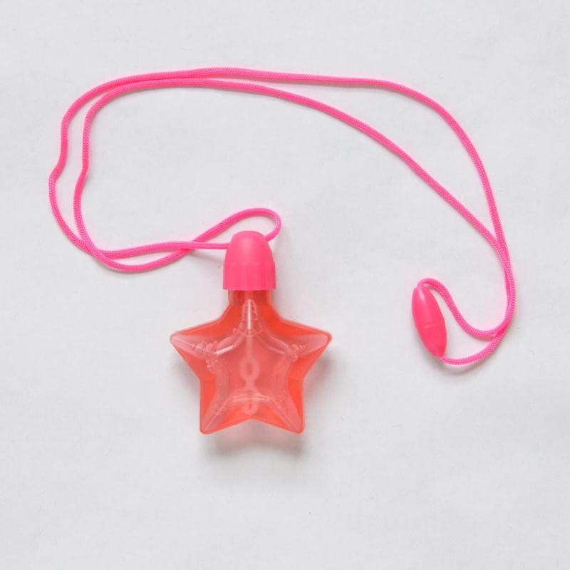 collier étoile bulles de savon