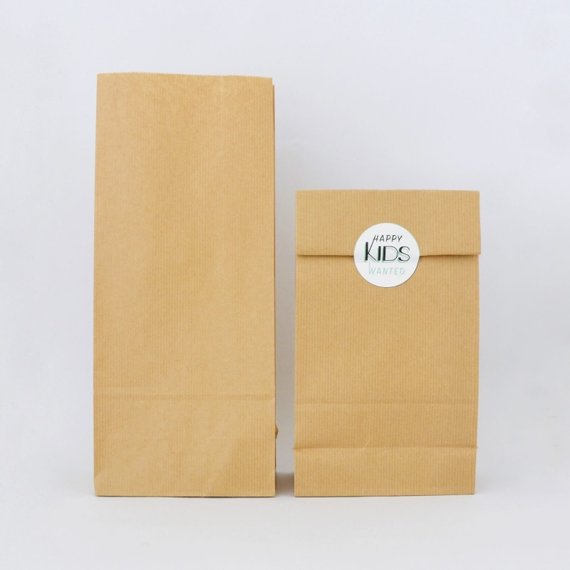 6 pochettes cadeaux en kraft