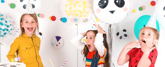 Box anniversaire clef en main pour enfants de 4 à 6 ans
