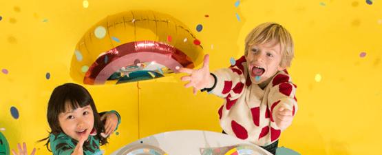 Box anniversaire clef en main pour enfants de 7 à 9 ans