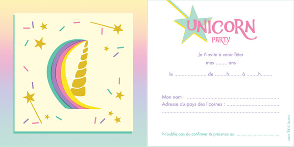 Invitations à la fête